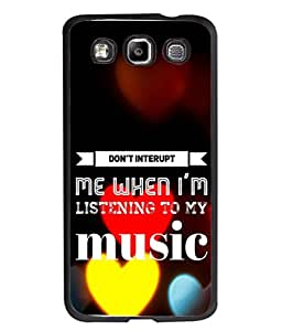 Fuson Designer Back Case Cover for Samsung Galaxy Win I8550 :: Samsung Galaxy Grand Quattro :: Samsung Galaxy Win Duos I8552 (Music Song Love Young Girls Boys Singer Disturbance)
