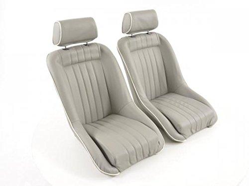FK Automotive FK Oldtimer asientos Auto Completo Carcasa