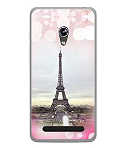 PrintVisa Designer Back Case Cover for Asus Zenfone 5 A501CG (High Rise Monument Building Paris)