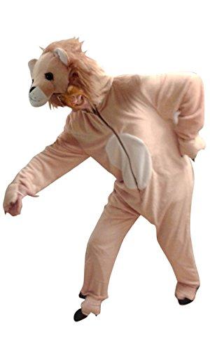 F15 Gr. XL Löwe Kostüm, Für hochgewachsene Männer und Frauen!, Löwenkostüm Tierkostüm Löwen Kostüme Karneval Fasching (Löwen Kostüme Für Männer)