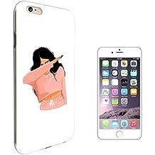 "003239 - Girl DAB Dance Move Rap RnB Design iphone 7 4.7"" Fashion Trend Protecteur Coque Gel Rubber Silicone protection Case Coque"