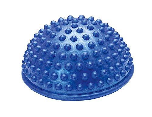 Balance Halbkugel, Balance-Halbball, Balancier Halbkugel mit genoppter Oberfläche, blau (Balance-halbkugel übung)