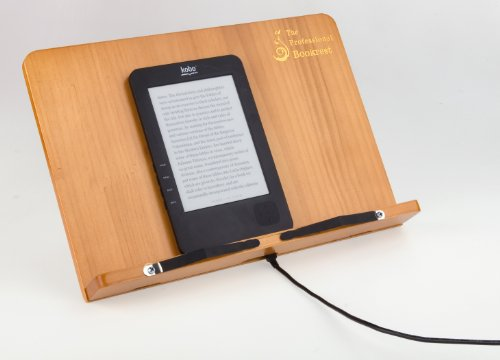 The Professional Bookrest | Buchständer | Leseständer: Buchständer aus Holz (Auflagefläche 34 x 22,5 x 4 cm)