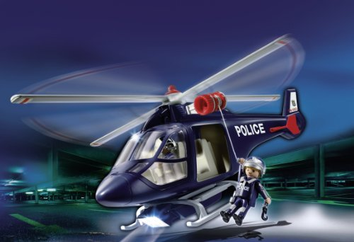 Playmobil City Action - Helicóptero de policía (5183)