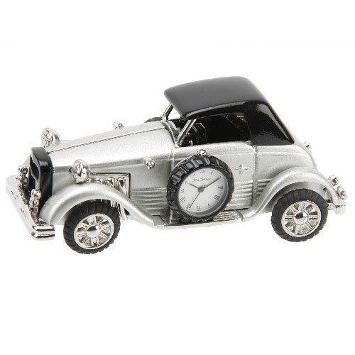 stylish-silver-black-classic-car-ornamental-miniature-novelty-quartz-clock