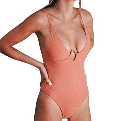 ig Bikini Sets Badeanzug Bikini mit Bügel GreatestPAK,Orange,M (Kostüm Box Größentabelle)