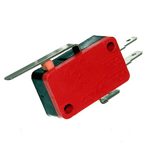 Mikrotaster Microswitch Öffner Schließer Taster Einbau Mikroschalter Endschalter Wippe Rolle Pinball Joy-Button (Schließer / Öffner mit Wippe)