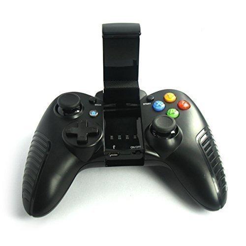 Universale Android Wireless Game Controller Gamepad Joypad Joystick per Smartphone Samsung Sony Xiaomi Huawei Nero