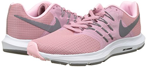 Nike Wmns Run Swift, Zapatillas de Running para Mujer, Rosa (Elemental Pink/Gunsmoke/Arctic 600), 38 EU
