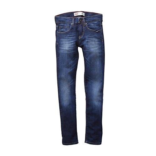 Levis Kids Jungen Jeans Levi's® Jean 510TM Skinny Fit Einfarbig, Gr. 176 cm (Herstellergröße: 16 Jahre), Blau (INDIGO 46) - Kinder Jungen Jeans