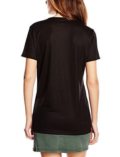 Trigema Trigema Damen V-shirt 100% Tencel - T-shirt - Femme Noir - Schwarz (Schwarz 008)
