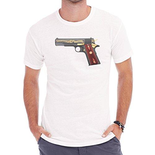 Colt Centennial Aniversary Tribute 45 Herren T-Shirt Weiß