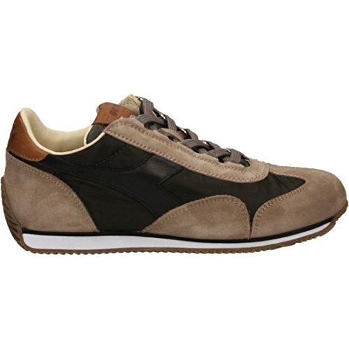 Diadora Equipe Ita, chaussure de sport homme Gris / Vert