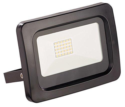Luminea aussen-Fluter LED: Wetterfester Mini-LED-Fluter, 20 W, 1.600 lm, IP65, 3.000 K, warmweiß (Sehr starke und helle LED Lampe) -