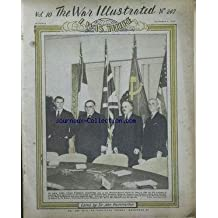 WAR ILLUSTRATED (THE) [No 247] du 06/12/1946 - NEW YORK - ITALY - RUMANIA - BULGARIA - HUNGARY AND FINLAND - M. CAUVE DE MURVILLE - M. BIDAULT - MR. BEVIN - MR. MOLOTOV AND MR. BYRNES.