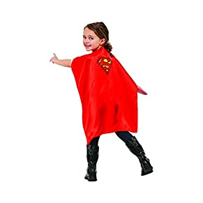 Rubies - Capa de disfraz Superman para niños, Talla única infantil (Rubie's 36626)