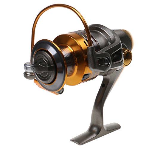 10 + 1 BB Roulements à Billes Moulinets Pêche Spinning Gear Ratio 5: 2: 1 Modèle 4000