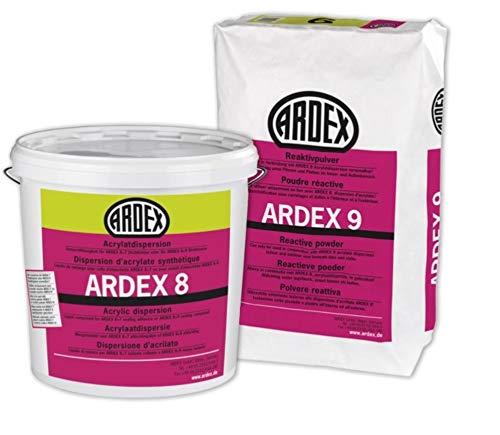 ARDEX 8+9 Dichtmasse 2K Abdichtung unter Fliesen und Platten 5 KG + 5 KG