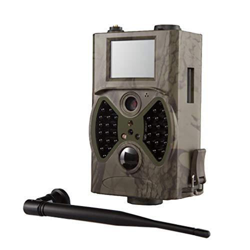 Luckyza 1080p gsm gprs fotocamera de caccia 12mp ip66 trigger 0.5s 940nm ir led night vision fototrappola infrarossi con display lcd da 2 '' per campo esterno home security