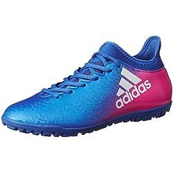 adidas X 16.3 TF, Scarpe per Allenamento Calcio Uomo, Blu (Azul/Ftwbla/Rosimp), 42 EU