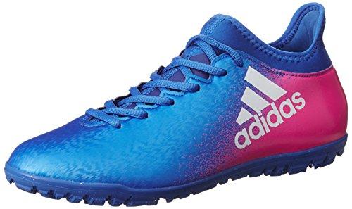 adidas X 16.3 Tf, Scarpe da Calcio Uomo Blu (Azul/Ftwbla/Rosimp)