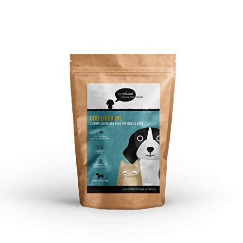 petrition - Dorsch Leber Öl für Hunde & Katzen - 365 Kapseln -