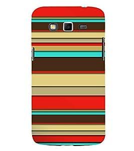Fiobs Designer Back Case Cover for Samsung Galaxy Grand 2 :: Samsung Galaxy Grand 2 G7105 :: Samsung Galaxy Grand 2 G7102 :: Samsung Galaxy Grand Ii (Multicolor Ethnic Design Band)