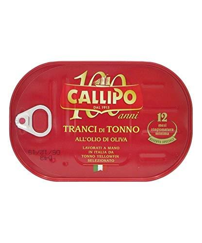 Callipo - Tranci di Tonno all'Olio di Oliva - 320g
