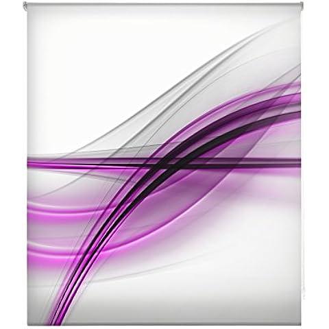 Blindecor W-V-04485-Tenda a pacchetto in voile translucido stampa digitale, 110 x 180 (A / V Per Montaggio A Parete Sistema)