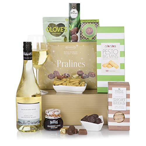 Delicious Delights Hamper - Luxury Hampers - 2019 Food Gift Baskets Range - Luxury Wine Hamper For Him or For Her ...