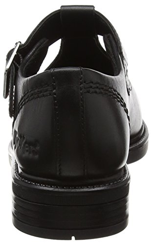 Kickers Lach T-Bar, Mary Janes Fille Noir (Black)