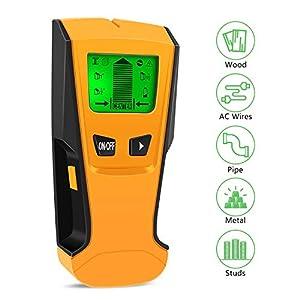 CTlite – Detector de metales para escáner de pared multifunción 3 en 1 (incluye cable de CA, metal, madera)