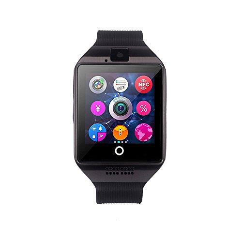 Uhren DAY.LIN Art und Weise wasserdichte Männer Boy LCD Digital Stoppuhr Datum Gummi Sport Armbanduhr (Schwarz 2)