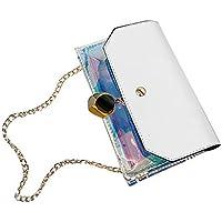 Bolsa de Mensajero Mujer Bloque de Color BrillanteBolsos de HombroColor del BotóNBolsa De Mensajero TeléFono