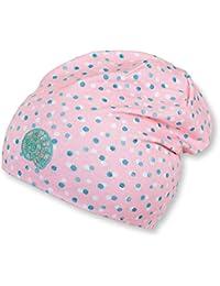Sterntaler Bonnet Slouch avec motif de points pour les filles, Rose pâle f08d5b8219d