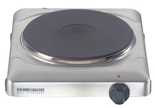 ROMMELSBACHER THS 2022/E Gastro - EINZELKOCHTAFEL - 2000 Watt - Edelstahl