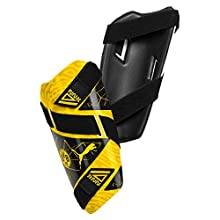 PUMA BVB Future 5 Guard, Parastinchi Calcio Unisex Adulto, Cyber Yellow Black, S