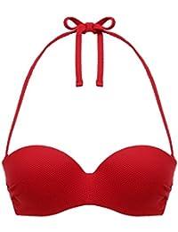 Darjeeling Soutien-Gorge Bretelles Amovibles Cap Ferret - Femme - Rouge