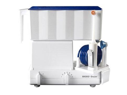 Broxo Orabrush, elektrische Zahnbürste, mechanisch und Ultraschall mit hydrodynamischer Wirkung (Broxodent), für gesunde Zähne und gesundes Zahnfleisch
