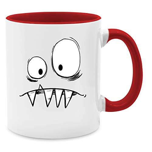 nster Kostüm - Unisize - Rot - Q9061 - Kaffee-Tasse inkl. Geschenk-Verpackung ()
