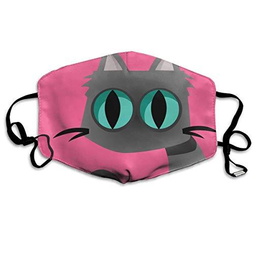 Alfreen mask Mundmaske, Gesichtsmaske, Pink Trendy Einhorn Floral Leaf Outdoor Schutz Gesicht Mundmaske geeignet für Skifahren Radfahren Camping Masken - Dichte, Florale Muster