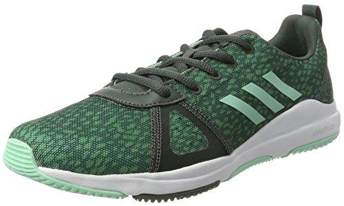adidas Arianna Cloudfoam, Running Femme Vert (Utility Ivy/easy Green /trace Green)