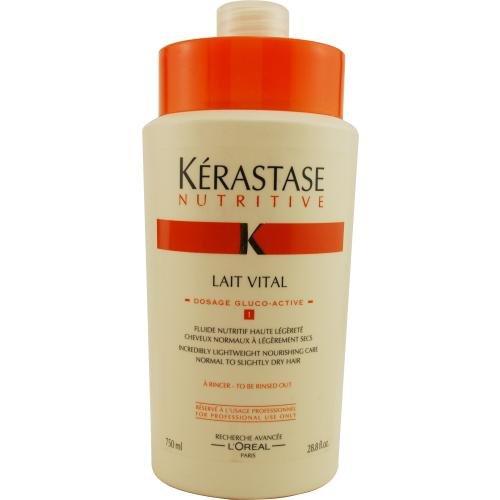 Nutritive Après-shampooing nourrissant Nutritive Lait Vital pour cheveux normaux à légèrement secs - 850 ml (28.8 oz)