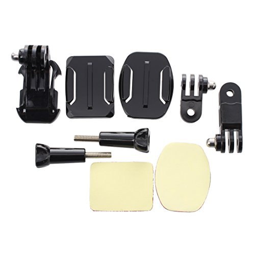 SODIAL(R) Kit de Montage Support Fixation Casque Pour Gopro Hero Camera Appareil Photo