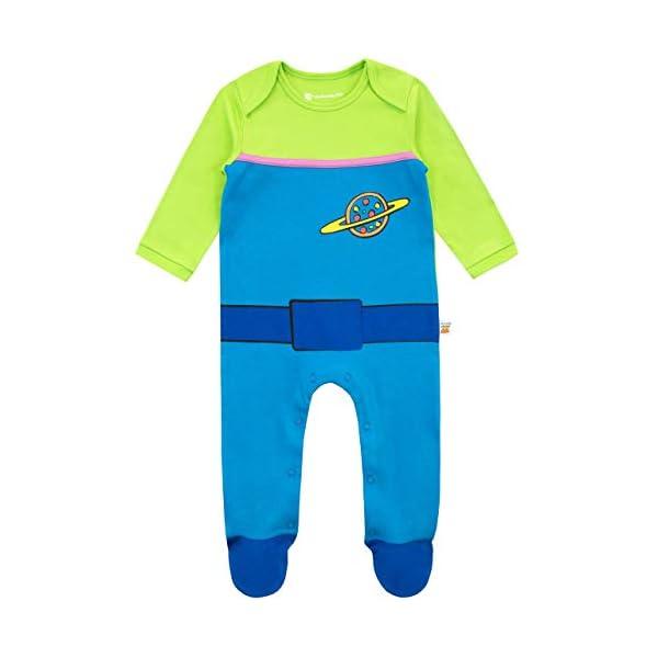Disney Conjunto de Pijama Entera y Gorro para Niños Bebés Toy Story 2