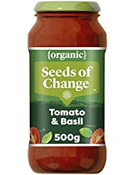 Seeds of Change Organic Tomato and Basil Pasta Sauce, 500g
