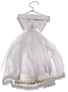Ballotin dragées ROBE MARIEE 17cm sur cintre