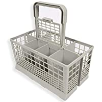 Features: This is a universal replacement cutlery basket for dishwashers, fits 99% of full size dishwashers including Bosch, Beko, Indiset, Zanussi etc. As far as we know it will not fit in any slimline dishwashers.The Electruepart Universal Cutlery ...