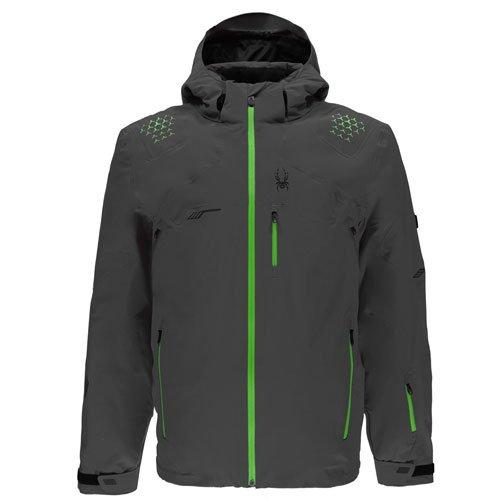 Spyder Mens Monterosa Jacket Skijacke (pol/fsh/blk), L