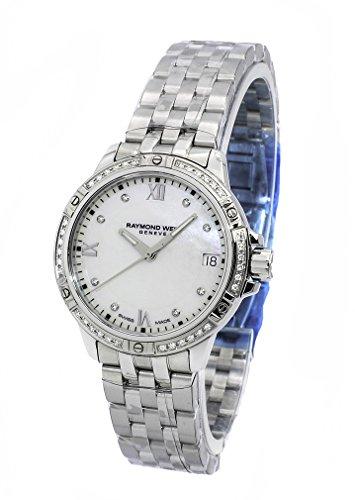Raymond Weil Tango Madre de Perla Diamante Dial Damas Reloj 5960-sts-00995